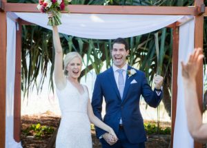Wedding Ceremony, Maison La Plage, Noosa. Wedding Celebrant, Patricia Quinn